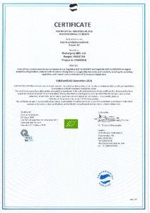 thumbnail of Organic Certificate Jhang